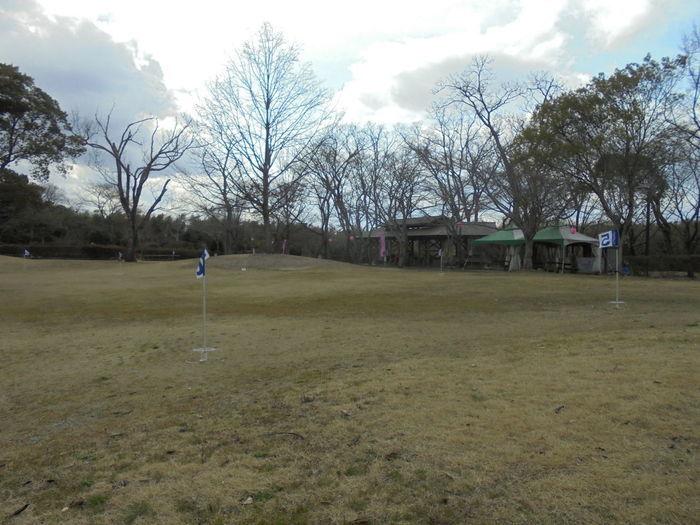 妹背の里のグランドゴルフ広場の写真