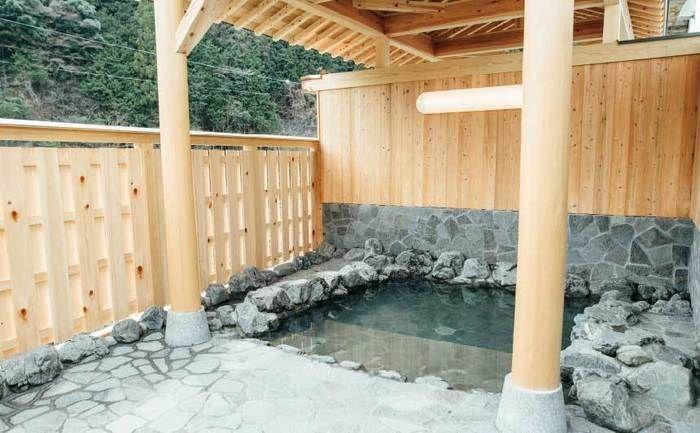 石作の露天風呂の写真