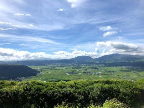 熊本・阿蘇山の景色