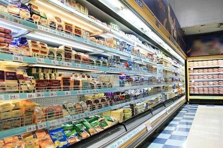 スーパーの店内の写真