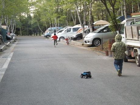 清里中央オートキャンプ場のオートキャンプサイトの写真