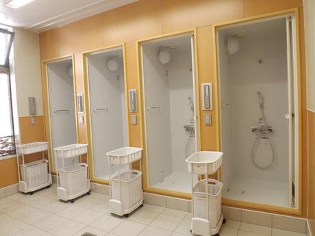 清里中央オートキャンプ場のシャワーの写真