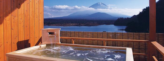山田屋ホテルの露天風呂の写真