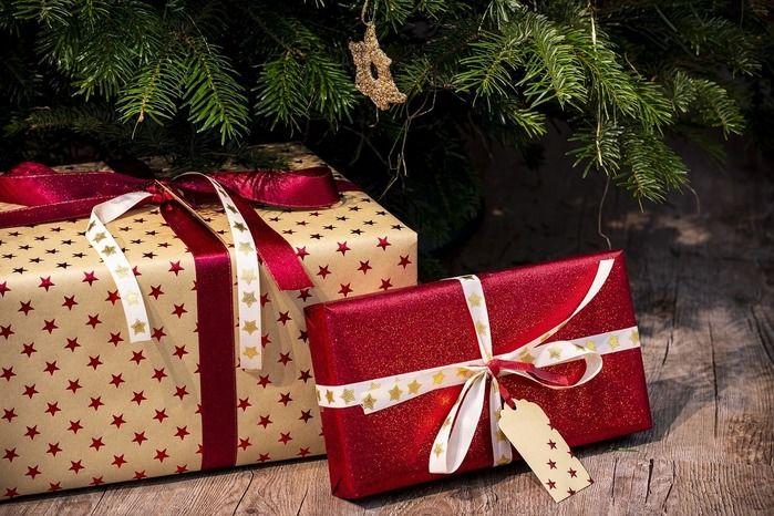 クリスマスプレゼントの写真