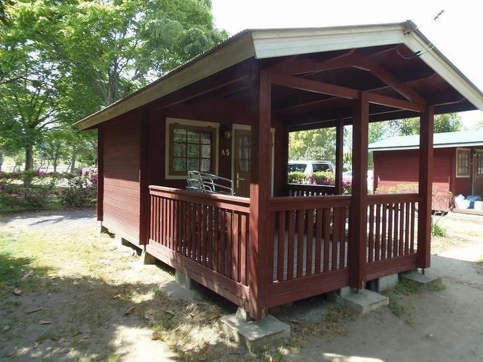 イレブンオートキャンプパークのバンガローの写真