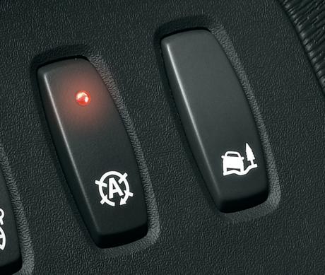カングーのイグニッショングリップボタンの写真