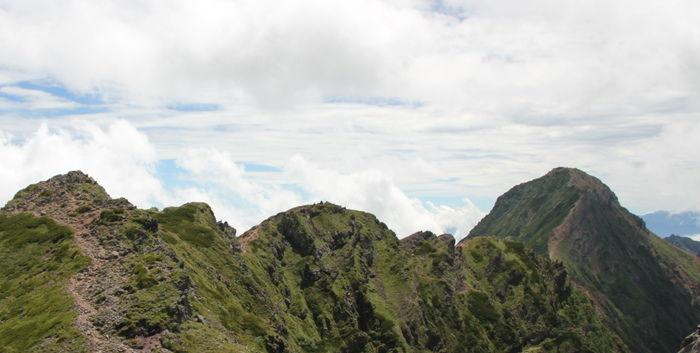山々の写真