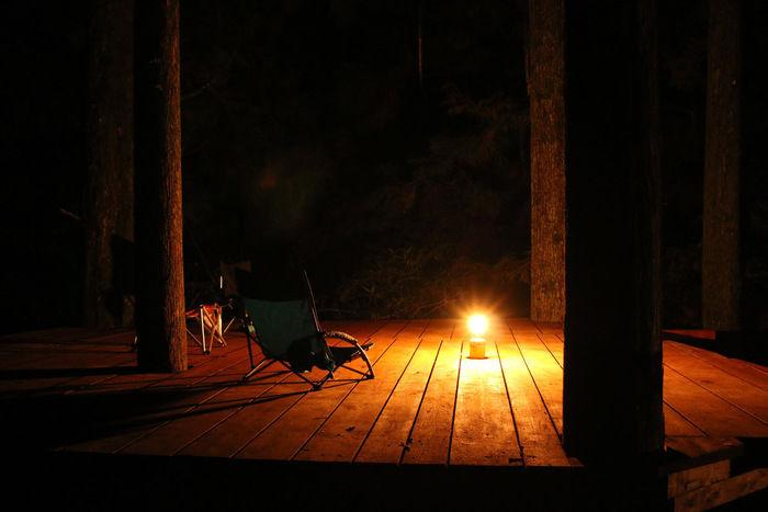 炭焼きの社 明ヶ島キャンプ場のコテージの写真