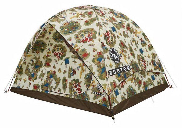 バートンのテントの写真