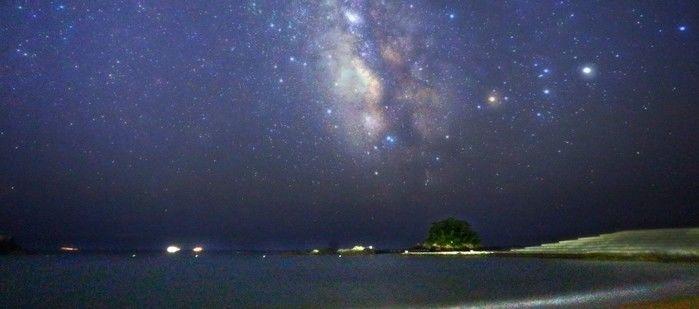 志摩オートキャンプ場で見れる夜空の写真