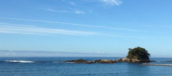 志摩オートキャンプ場の近くの海の写真