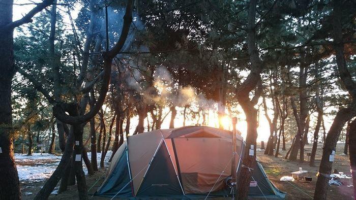 大洗 サン ビーチ キャンプ 場