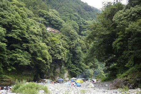 落合キャンプ場は都心から日帰りで行ける穴場のbbqスポット Hinata