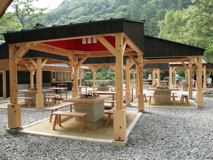足助村 キャンプ施設