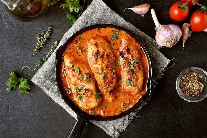 トマトの煮込みの写真
