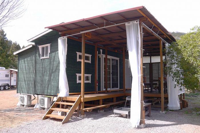 満願ビレッジオートキャンプ場の宿泊施設