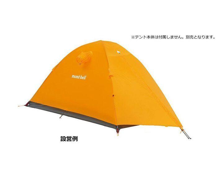 テント設営例
