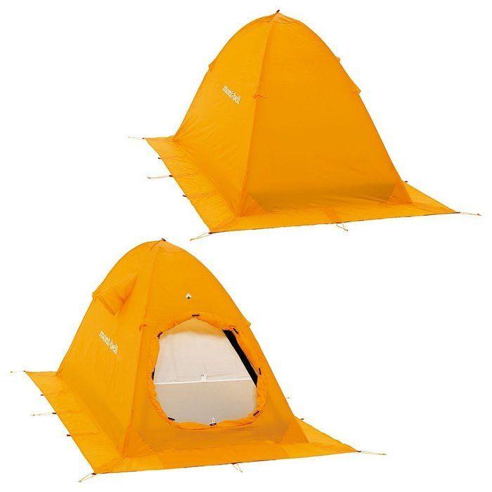 モンベルのテントの写真
