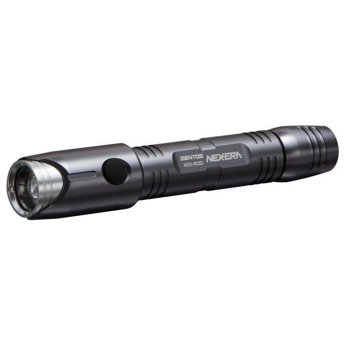 ジェントスの乾電池式コンパクトライト