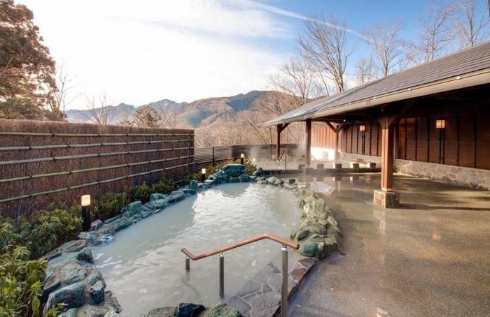 さがみ湖温泉 うるりの露天風呂の写真