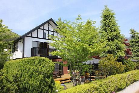 貸別荘 ウルルン河口湖のコテージの写真