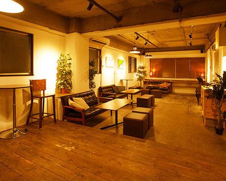 渋谷南口G-styleの屋内バーベキュースペース