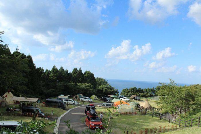 ガラガラ山キャンプ場 SPA&CAMPの様子