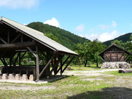 利賀国際キャンプ場の炊事場