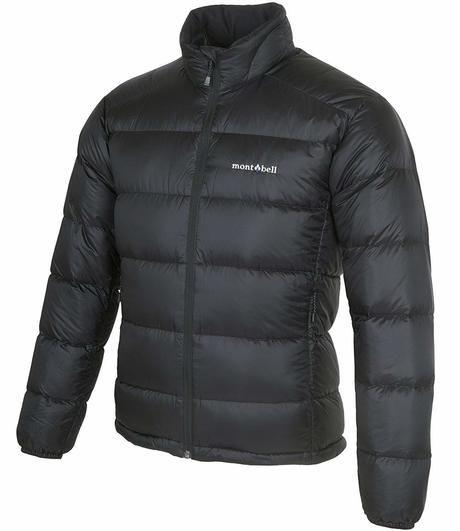 モンベルのアルパインダウンジャケットの画像