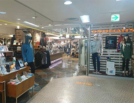 オッシュマンズの店の内装の写真