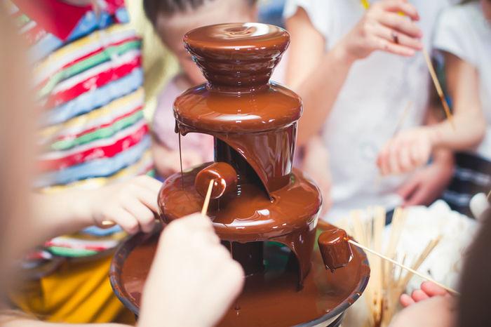 チョコレートフォンデュ マシュマロ