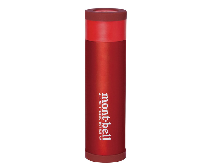モンベルの赤い水筒