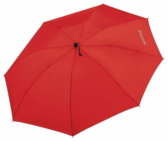 モンベルの折りたたみ傘の画像