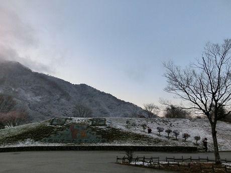 雪 大佐山オートキャンプ場