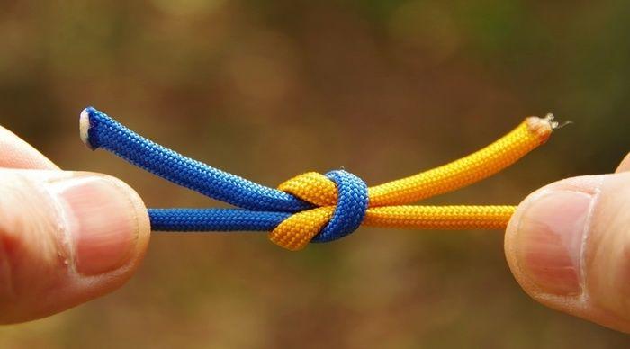の 紐 結び方 ない 緩ま ひも・ロープの結び方