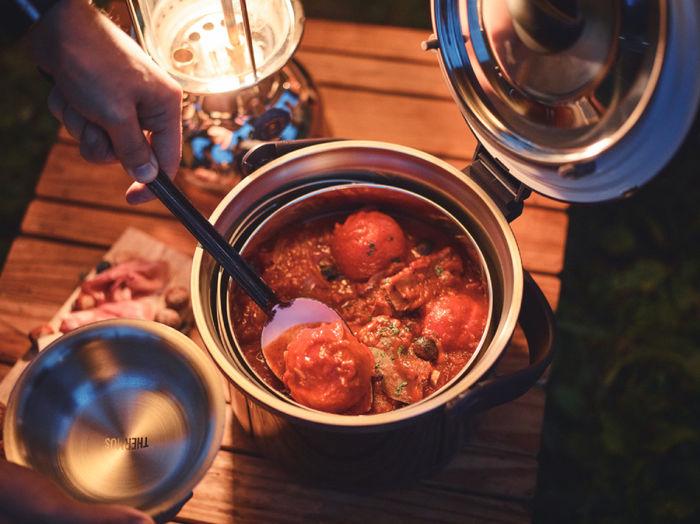 シャトルシェフで調理するトマト料理