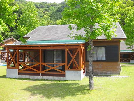 孫太郎オートキャンプのシーサイドコテージ