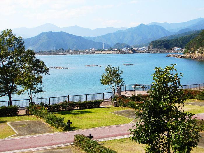 孫太郎オートキャンプの景色