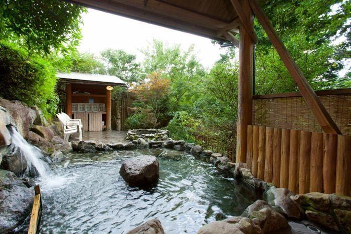 黒川 森のコテージの露天風呂