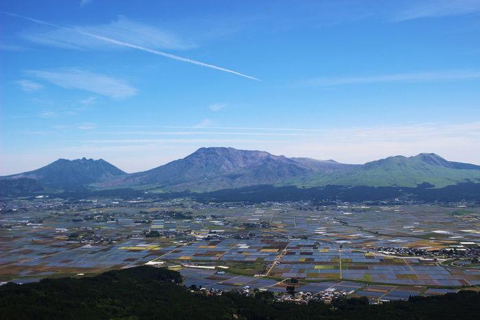 大観峰の景色