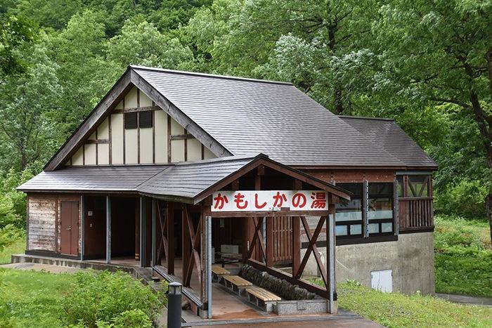 銀山平キャンプ場の温泉