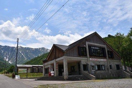 銀山平キャンプ場の外観