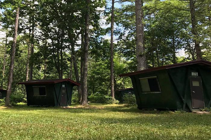 戸隠イースタンキャンプ場の施設