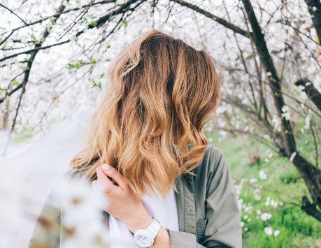 バーベキュー 髪型 ウェーブヘア