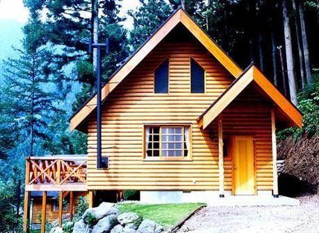 アメリカキャンプ村のコテージの写真