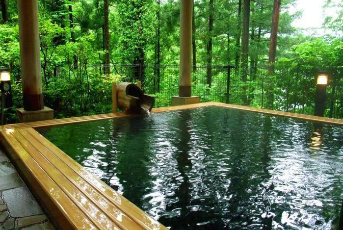 アメリカキャンプ村周辺の温泉施設
