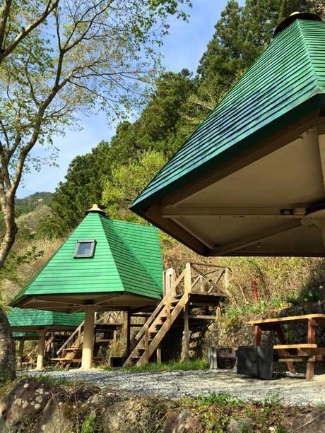アメリカキャンプ村のツリーハウス