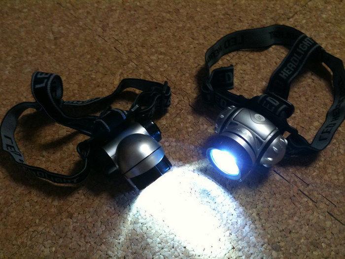 ヘッドライト LED
