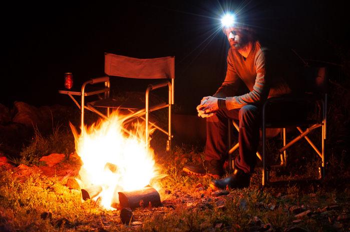 アウトドア キャンプ LEDライト