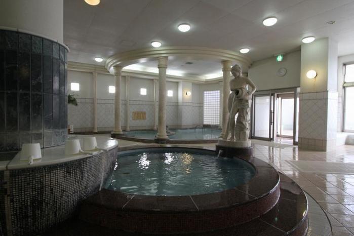 スパワールドのお風呂の写真